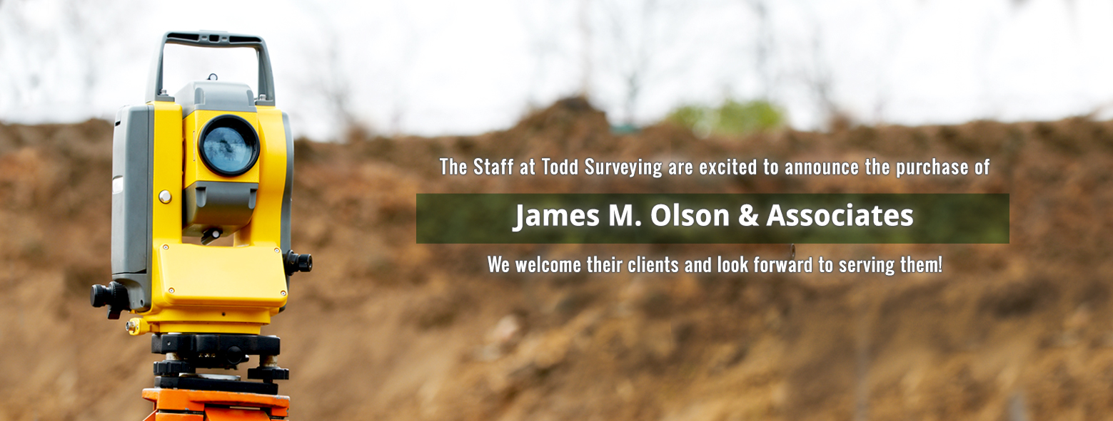 welcome james m olson and associates surveying